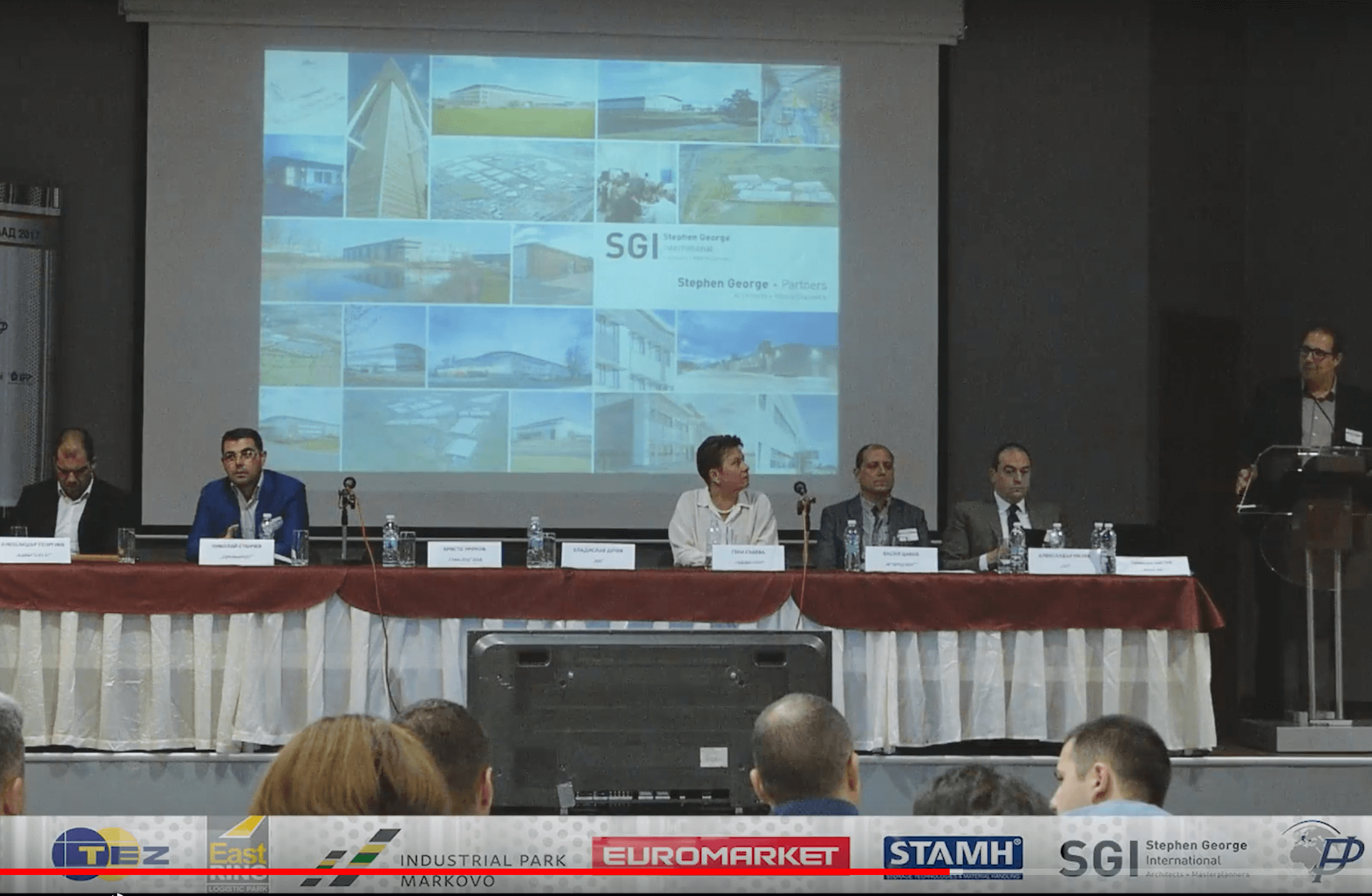SGI participates in the First National Industrial Property Conference – BG Slklad  2017