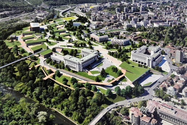 SGI is among the winners in the international architectural competition for a new city center in Veliko Tarnovo